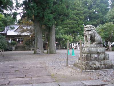 狛犬は狼に勝つ凄い奴、狼を撃退した伝説の狛犬がいる大滝山西照神社と大瀧寺参拝