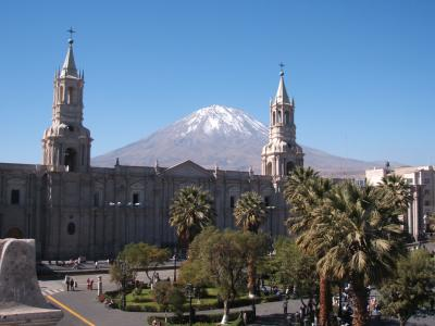 不思議の国ペルー(アレキパへ)
