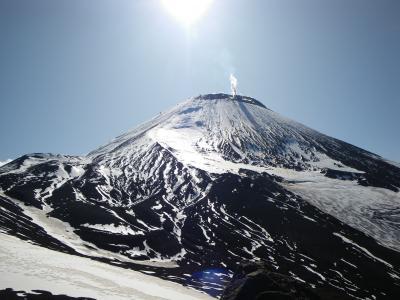 カムチャツカの登山ツアー