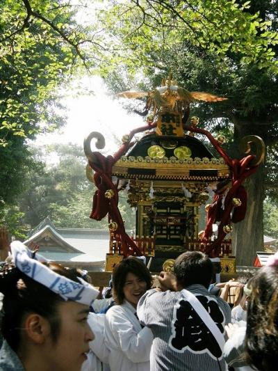 鷲宮町「土師祭」千貫神輿・・・②千貫神輿の渡御