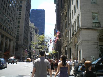 マンハッタンをふーらふら。