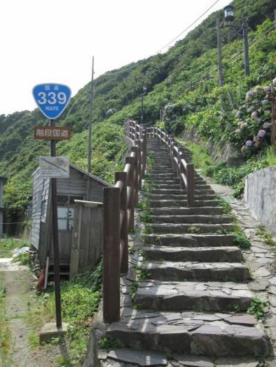 階段国道 R339 登り編