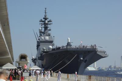 護衛艦「ひゅうが」一般公開