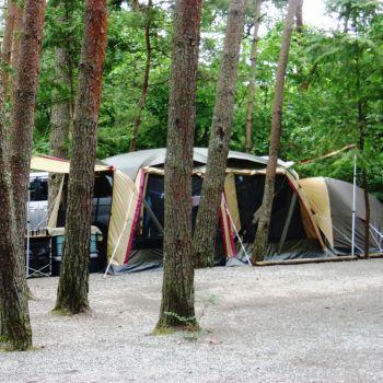 夏だ、キャンプだ! 家族de避暑しちゃおう 2009 (白州その1)