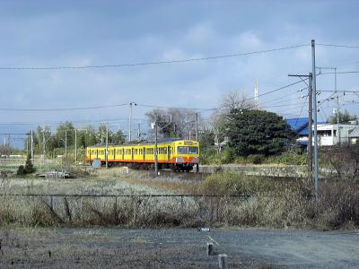 黄色いかわいいヤツを見に~三岐鉄道~