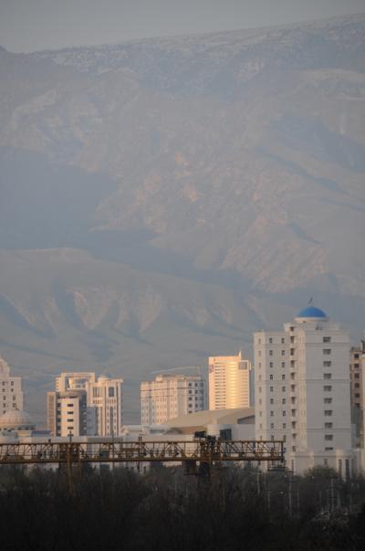 トルクメニスタン出張2009−アシガバード