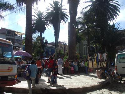 ボリビア国ラパス県の楽園コロイコの町と周辺−南米アンデス山脈