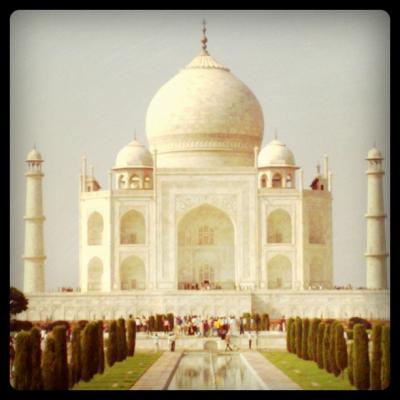 インドの旅 (2) アグラ編