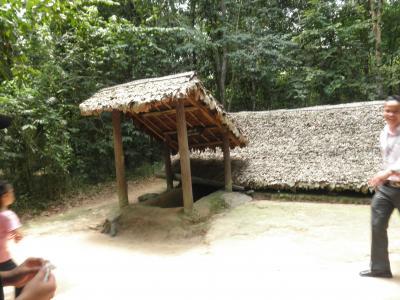 はじめてのドキドキベトナムひとり旅 ⑥クチトンネルツアー