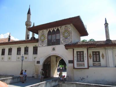 2009年ウクライナ旅行第5日目(3)クリミア半島:バレエで知ったバフチサライ宮殿
