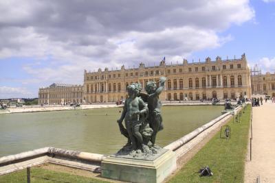 フランスの旅④~ルーブル美術館・ヴェルサイユ宮殿・夜のエッフェル塔編