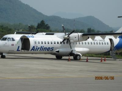 遥かなるメコン(62)ラオス航空搭乗。