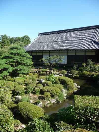 足利尊氏の墓所がある『等持院』(京都市北区)