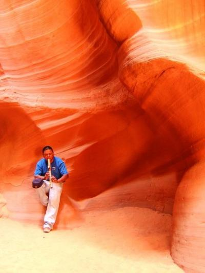 Upper Antelope Canyon (2006年春の旅行記)