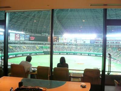 2009 AUG 福岡ドーム スーパーボックス 観戦記