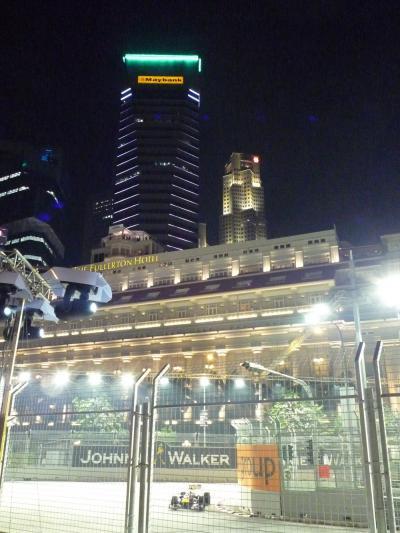F1 Singapore GP 観戦 in 2009