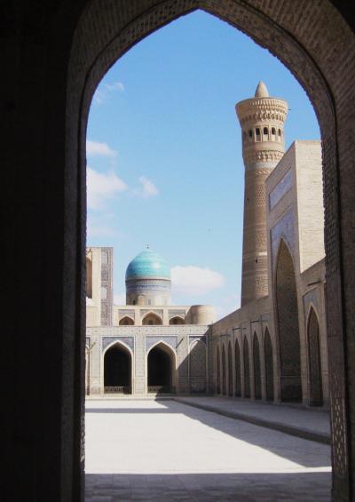 青に魅せられて―ウズベキスタン(2)ブハラ