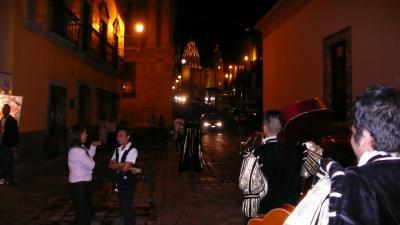 夜景できれいな町グアナファト