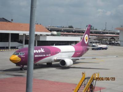 雑感タイ旅行「マレーに吹く風」(4)タイの航空機事情。