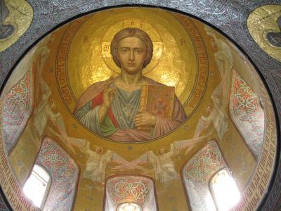 2009年ウクライナ旅行第6日目(3)ヤルタ:特別に見学させてもらったオレアンダー・サナトリウムとニコライ2世王室教会