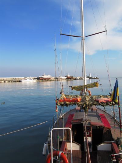 2009年ウクライナ旅行第6日目(6)ヤルタ:一人で散策した海岸沿いプロムナード