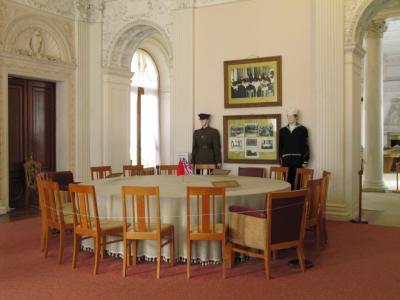 2009年ウクライナ旅行第6日目(4)ヤルタ:ヤルタ会談が行われたリヴァーディア宮殿
