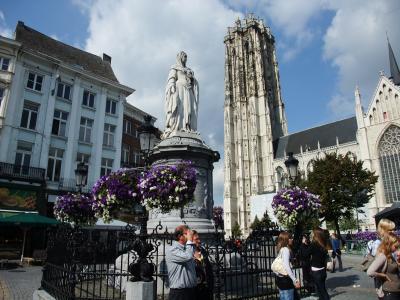 2009年秋 ベルギーフランダース地方と南フランスの旅 1日目