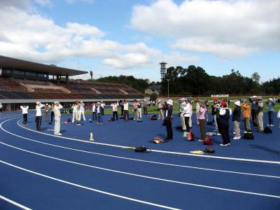 体育の日イベント 第42回 奈良市民スポーツの集い ウォーキング
