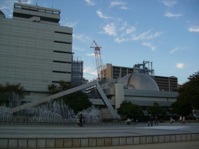 名古屋市科学館でブラブラ