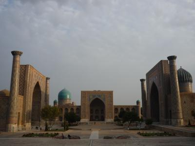 作成中:青の世界ウズベキスタンを歩く ④ -青の都Samarkand-