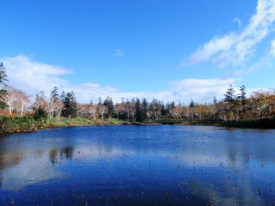 129-秋のニセコへ…ニセコブルーの神仙沼・シャクナゲ岳登山、紅葉は…