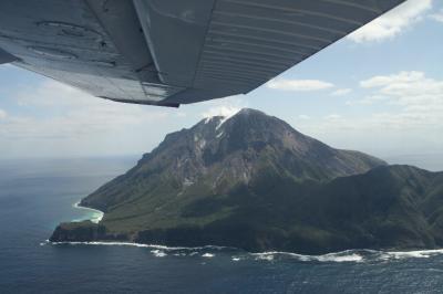 薩摩硫黄島への飛行機旅