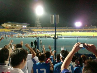 ウズベキスタン代表対日本代表、W杯決めてきました!!