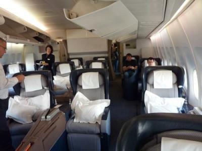 カンタスオーストラリア航空ファーストクラス 機内食編