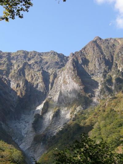 09秋の谷川岳と奥利根水源の森を散策・・・②マチガ沢・一の倉沢散策