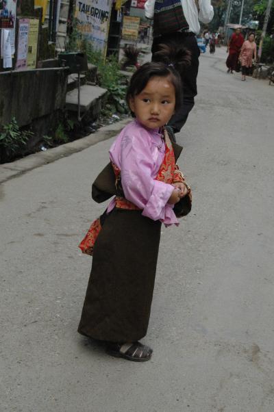 亡命チベット人の子どもたち