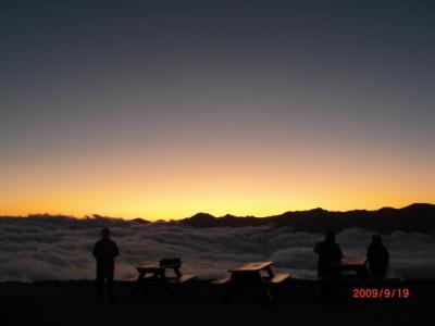 絶景 北アルプス 燕岳 2009年9月