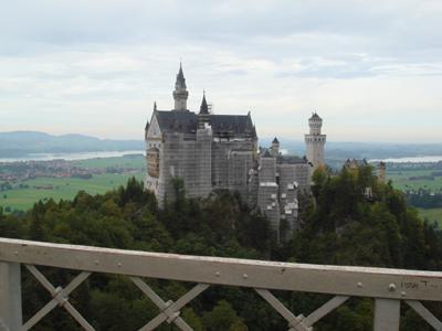 そちぷのミュンヘンから日帰り旅行~ノイシュヴァンシュタイン城とリンダーホーフ城