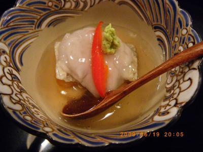 『京料理 藤本』で夏の京都