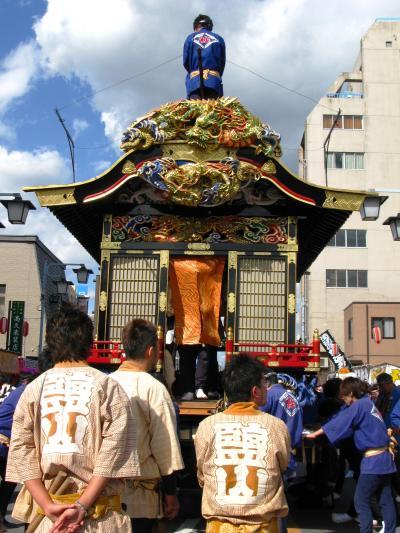 鹿沼ぶっつけ秋祭り 6/8 ☆彫刻屋台の素晴らしさ