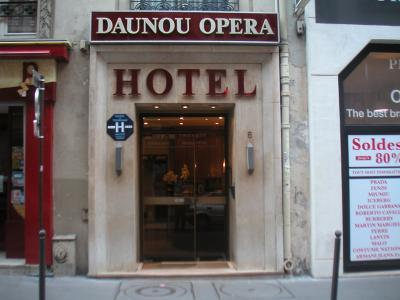 パリ プチホテル ドヌーオペラ DAUNOU OPERA