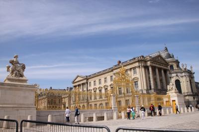 9月11日ベルサイユ宮殿へ