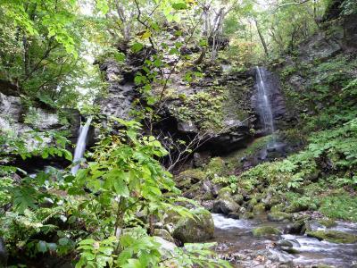『鳴神の滝』(北海道岩内町)◆2009秋色の北海道《その4》