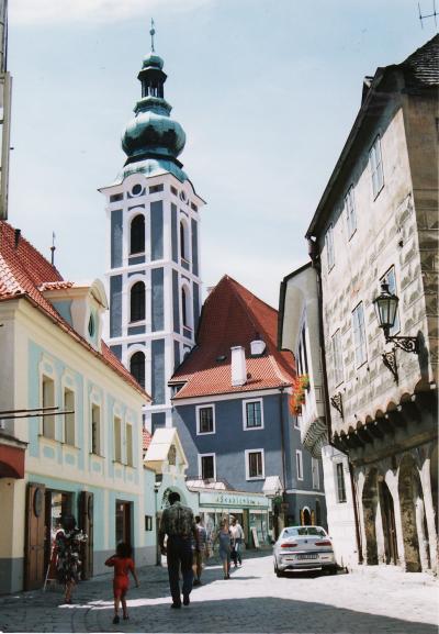 チェコ旅行② チェスキー・クルムロフ 童話のような町
