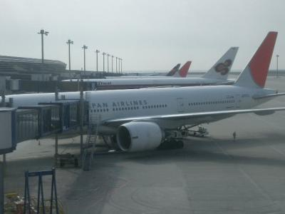 JAL中部ーパリ便がなくなります。乗り納めです。
