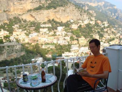 夫婦で南イタリアを巡る10日間(5.ポジターノ)