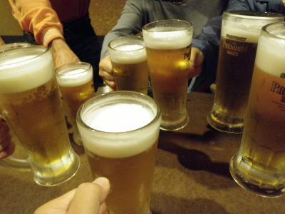 2009年10月関西 その6 ビールコミュオフ会&帰宅