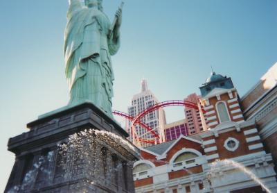 アメリカ旅行<1日目>(ラスベガス~サンフランシスコ)(2005年 11月)