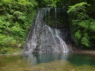 南房総①七里川温泉と不動滝、旅館松の家編