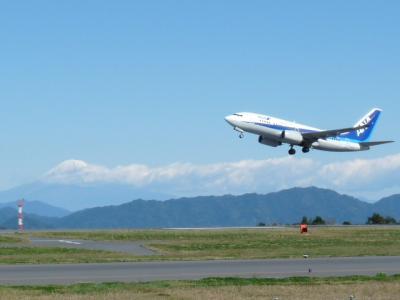 これぞ富士山と富士山静岡空港